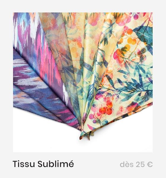 Tissu sublimé