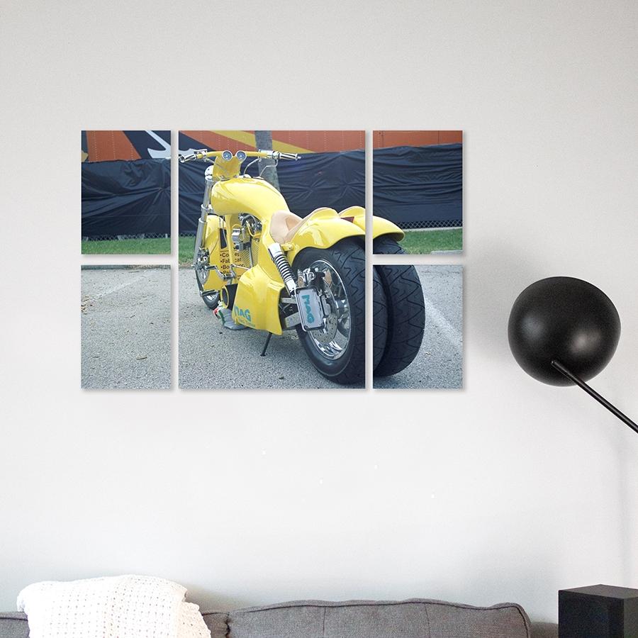 multi-panneaux motos