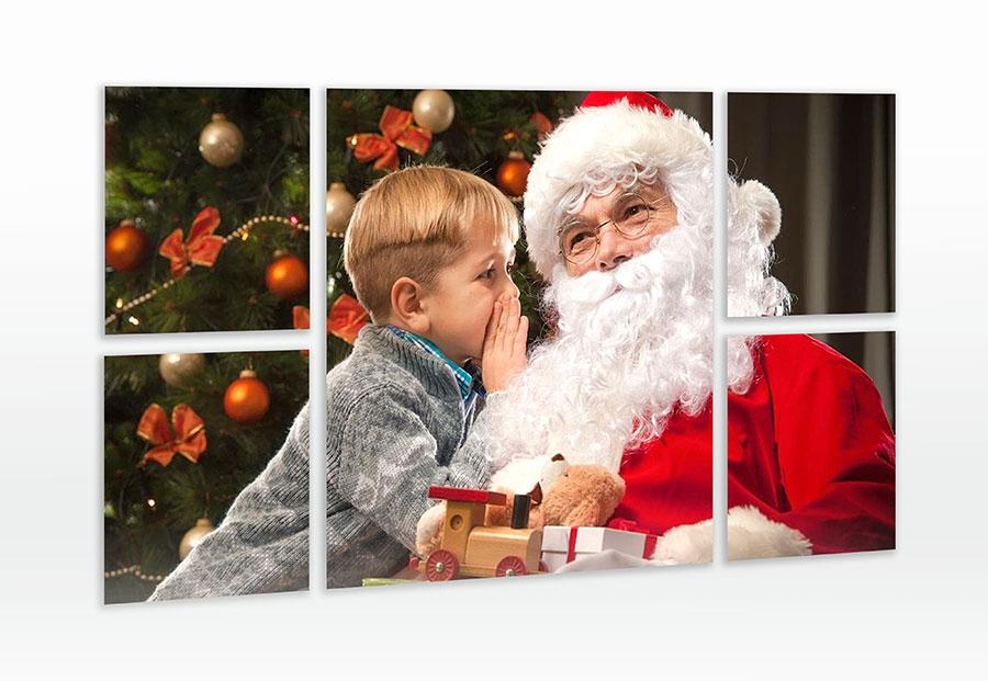 Multi Panneaux Père Noël