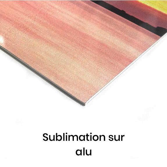 sublimation sur alu
