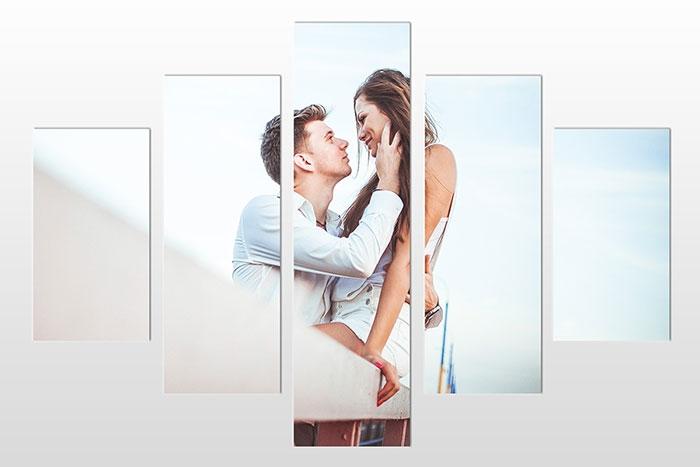 Tableaux multi-panneaux saint valentin